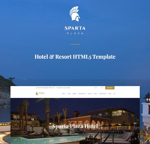 Sparta HTML Template