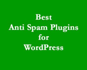 anti spam plugin
