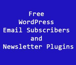Newsletter Plugins